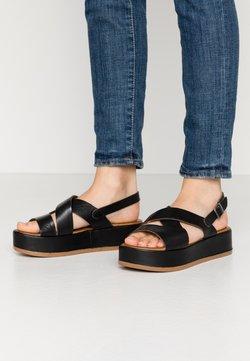 Carmela - Korkeakorkoiset sandaalit - black