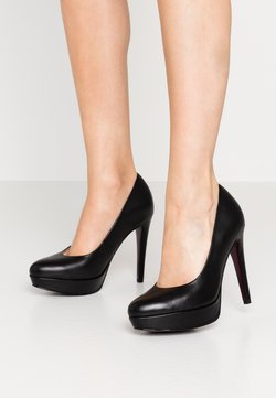 Tamaris Heart & Sole - COURT SHOE - High Heel Pumps - black