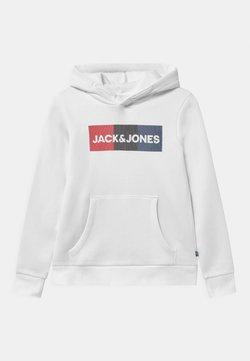 Jack & Jones Junior - JJECORP LOGO HOOD - Hoodie - white