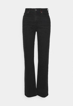 ONLY Tall - ONLMEGAN - Straight leg jeans - black denim