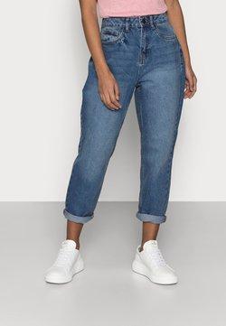 Noisy May Petite - NMISABEL MOM JEANS  - Jeans Skinny - medium blue denim