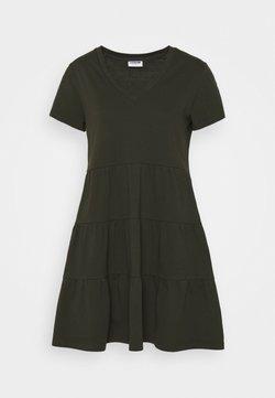 Noisy May Petite - NMMARBLE LEE DRESS  - Vestido informal - rosin