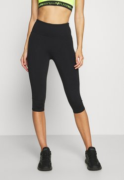 Cotton On Body - ACTIVE CORE CAPRI - Pantalón 3/4 de deporte - black