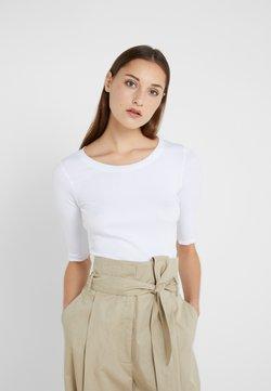 Marc Cain - T-Shirt basic - white