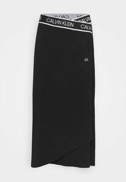 Calvin Klein Performance - SKIRT - Falda de deporte - black