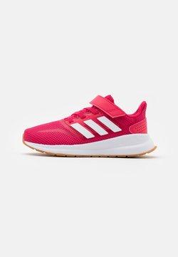adidas Performance - RUNFALCON UNISEX - Hardloopschoenen neutraal - power pink/footwear white