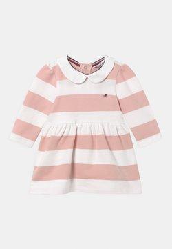 Tommy Hilfiger - BABY RUGBY STRIPE DRESS - Vestido informal - pink