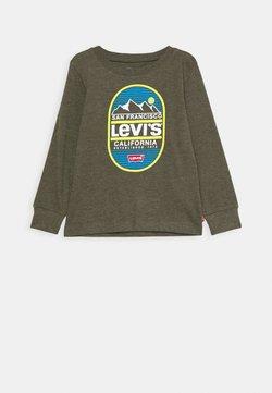 Levi's® - GRAPHIC - Pitkähihainen paita - olive night heather