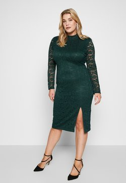Glamorous Curve - OPEN BACK DRESS - Cocktail dress / Party dress - green