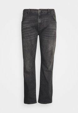 Cars Jeans - BATES PLUS - Jean droit - black used