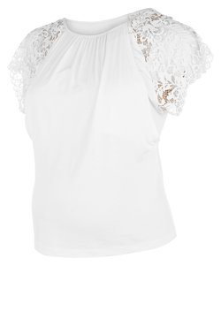 Cache Coeur - Nachtwäsche Shirt - pearl