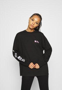 BDG Urban Outfitters - MOUNT FUJI SKATE TEE - Langarmshirt - black