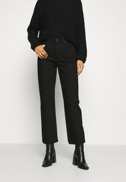 Selected Femme - SLFKATE STRAIGHT  - Straight leg -farkut - black denim