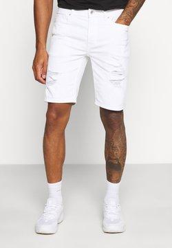 Topman - Jeansshort - white