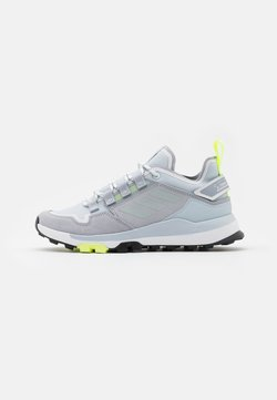 adidas Performance - TERREX HIKSTER - Hikingschuh - halo silver/halo blue/core black