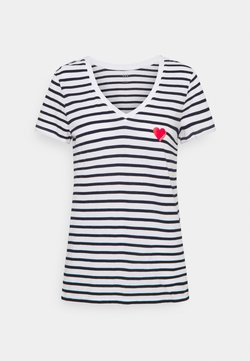 GAP - T-Shirt print - heart navy