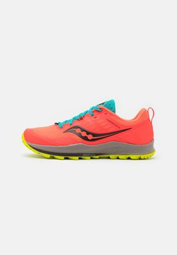 Saucony - PEREGRINE 10 - Zapatillas de trail running - vizired/citron