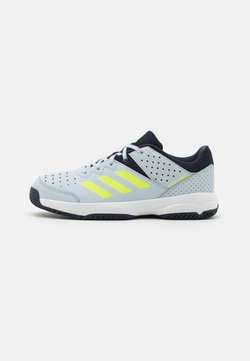adidas Performance - COURT STABIL UNISEX - Indoorskor - halo blue/hi res yellow/legend ink