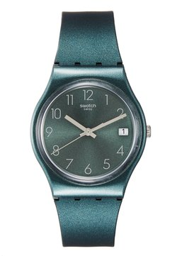 Swatch - ASHBAYA - Montre - dark green
