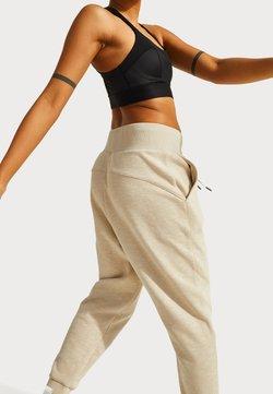 Sweaty Betty - SWEATY BETTY X HALLE BERRY GINGER ESSENTIALS - Pantaloni sportivi - pebble beige