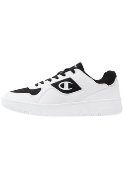Champion - LOW CUT SHOE REBOUND - Zapatillas de baloncesto - white/black