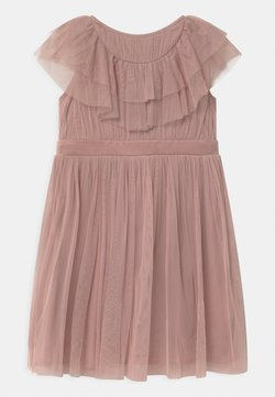 Anaya with love - RUFFLE BIB WITH BOW - Cocktailkleid/festliches Kleid - frosted pink