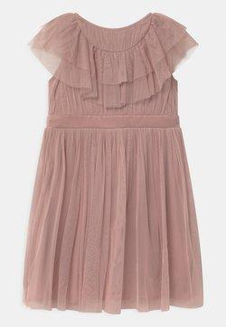 Anaya with love - RUFFLE BIB WITH BOW - Sukienka koktajlowa - frosted pink