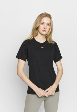 Tommy Hilfiger - PERFORMANCE LOGO - T-paita - black