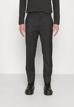 Calvin Klein Tailored - TWILL STRUCTURE PANT - Trousers - dark grey heather