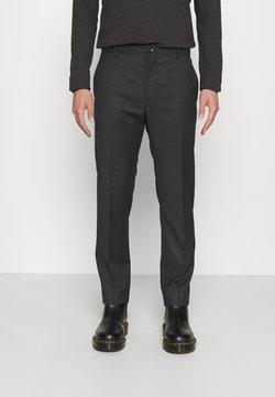 Calvin Klein Tailored - TWILL STRUCTURE PANT - Broek - dark grey heather
