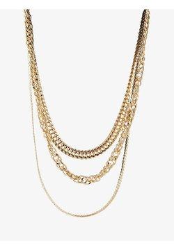 Pieces - Necklace - gold colour