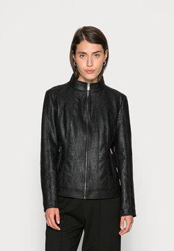 Desigual - CHAQ COMARUGA - Leren jas - black