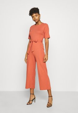 Even&Odd - BASIC - Jumpsuit with belt - Jumpsuit - bruschetta