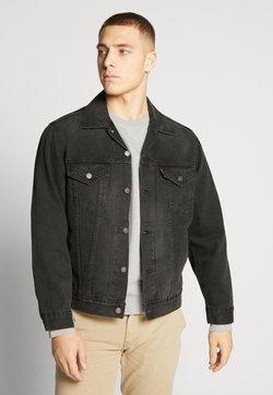 Levi's® - VINTAGE FIT TRUCKER UNISEX - Veste en jean - black