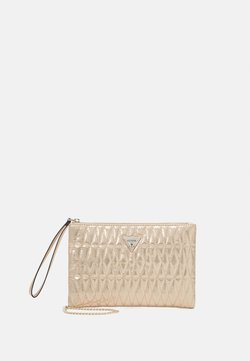 Guess - PIXI WRISTLET CLUTCH - Kuvertväska - gold