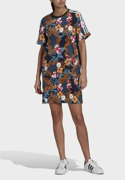 adidas Originals - DRESS - Jerseykleid - multicolor