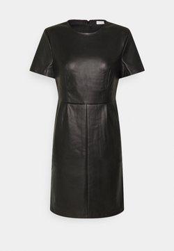 Vila - VIJAFFI COATED DRESS - Robe d'été - black