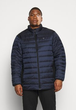 Calvin Klein - LIGHT WEIGHT SIDE LOGO JACKET - Winterjacke - blue