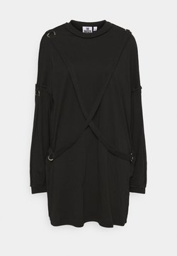 The Ragged Priest - SKATER DRESS STRAP DETAIL AND D-RINGS - Trikoomekko - black