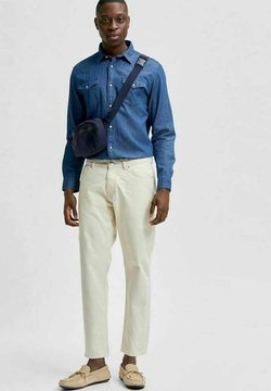 Selected Homme - Jeans Slim Fit - egret