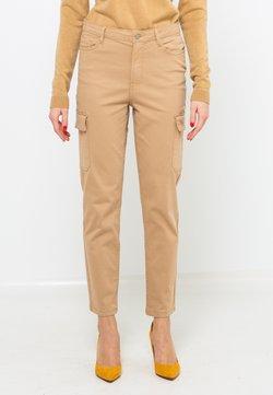 Camaïeu - Pantalon classique - camel