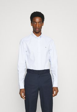 Tommy Hilfiger Tailored - POPLIN WIDE STRIPE REGULAR FIT - Hemd - light blue/white