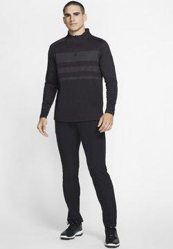 Nike Golf - Funktionsshirt - black/dark grey