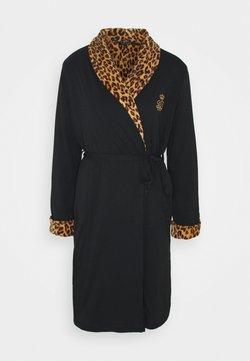 Lauren Ralph Lauren - LONG ROBE - Dressing gown - black