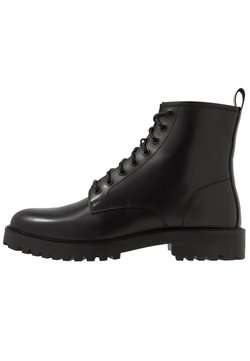 Walk London - SEAN LACE UP BOOT - Schnürstiefelette - black
