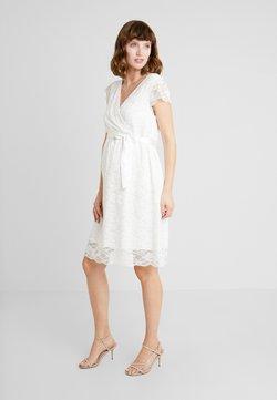 Esprit Maternity - DRESS - Freizeitkleid - offwhite