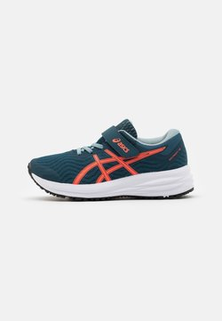 ASICS - PATRIOT 12 UNISEX - Obuwie do biegania treningowe - magnetic blue/sunrise red