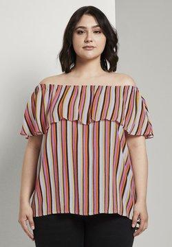 MY TRUE ME TOM TAILOR - Bluse - mutlicolor stripe