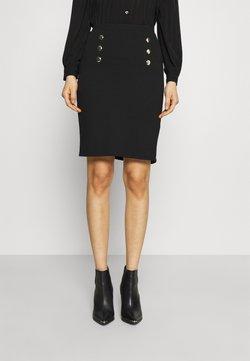 Anna Field - Mini punto smart comfy skirt - Gonna a tubino - black