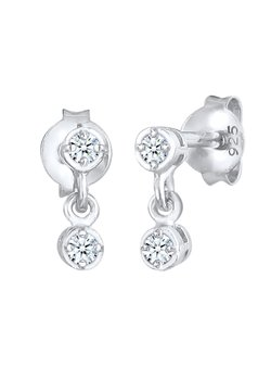 Elli DIAMONDS - Örhänge - silber